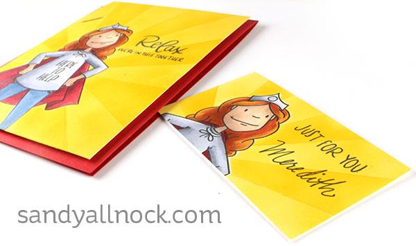 Sandy Allnock Everyday Hero card