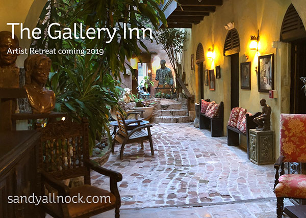 Artist Retreat coming in 2019:  The Gallery Inn, Old San Juan, Puerto Rico