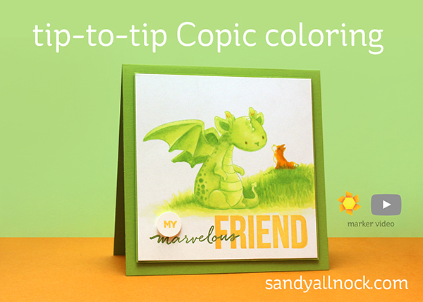Tip to tip Coloring: Dragons