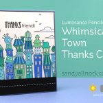 Whimsical Town Thanks Card