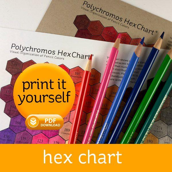 Polychromos Hex Chart Sandy Allnock