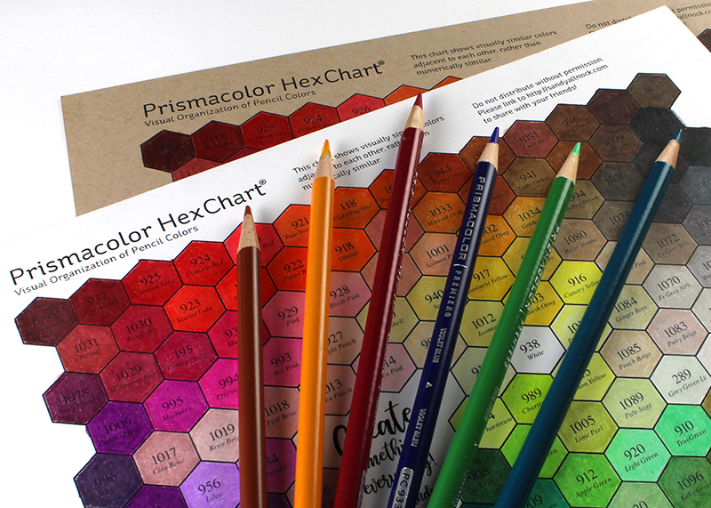 prismacolor hex chart sandy allnock