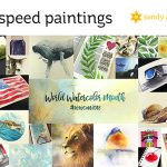 World Watercolor Month #15: 31 Speed Paintings! (Some prints available!)