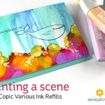 Painting a scene with Copic Various Ink Refills