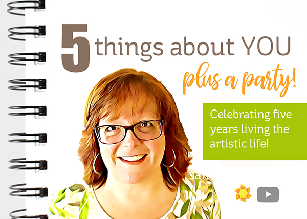 Five things about you … and a PARTY!