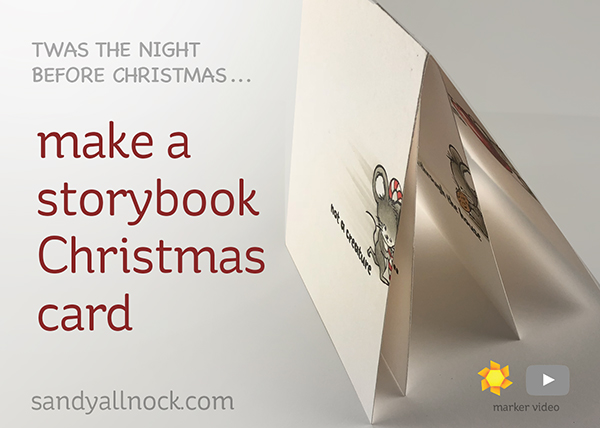 Make a Storybook Christmas Card