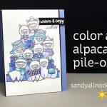 Alpaca Pile-On card! (Sunny Studios BlogHop)