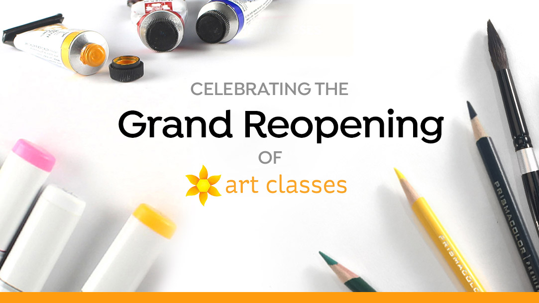 Grand Re-Opening of Art-Classes.com!