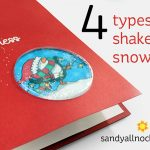 Penguin Week #3: Four types of shaker snow