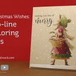 Christmas Wishes: No-line coloring tips