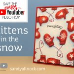 Mittens in the snow [video hop]
