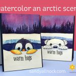 Penguin Week #1: Watercolor an Arctic Scene