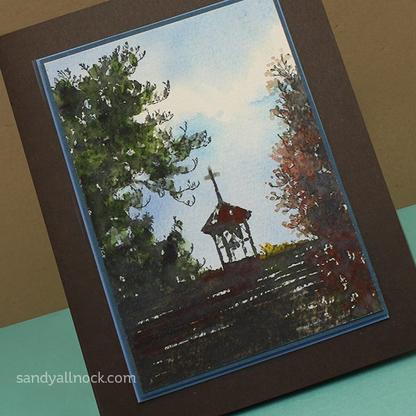 Watercolor Sandy Allnock