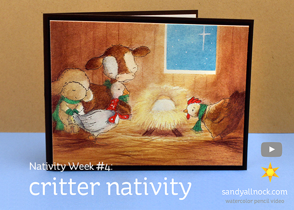Nativity Week #4: Critter Nativity