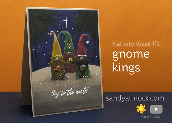 Nativity Week #2: Three Gnome Kings