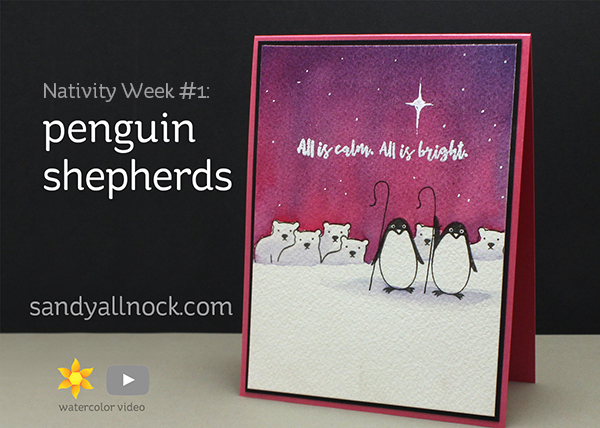 Nativity Week #1: Penguin Shepherds