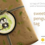 Christmas Tag (with a feminine twist!): Sweet Little Penguin Tag