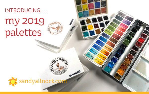 Introducing…my 2019 palettes!