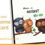 Awesome Owl Card: shading map