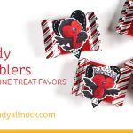 Candy Wobblers for Valentine Treat Favors
