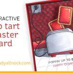 Interactive Poptart Toaster Card