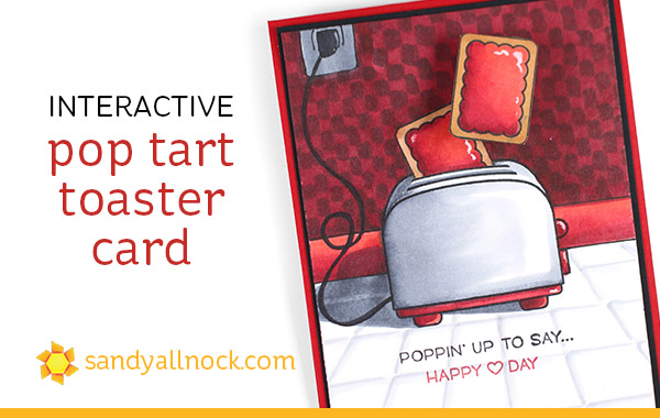 Interactive Poptart Toaster Card