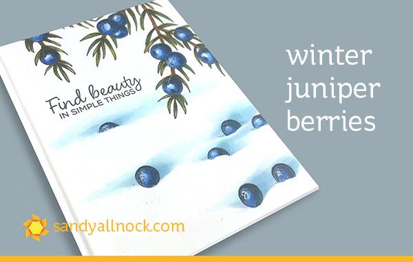 Winter Juniper Berries