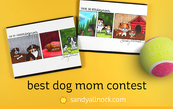 Best Dog Mom Card + contest!