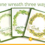 One Wreath Three Ways
