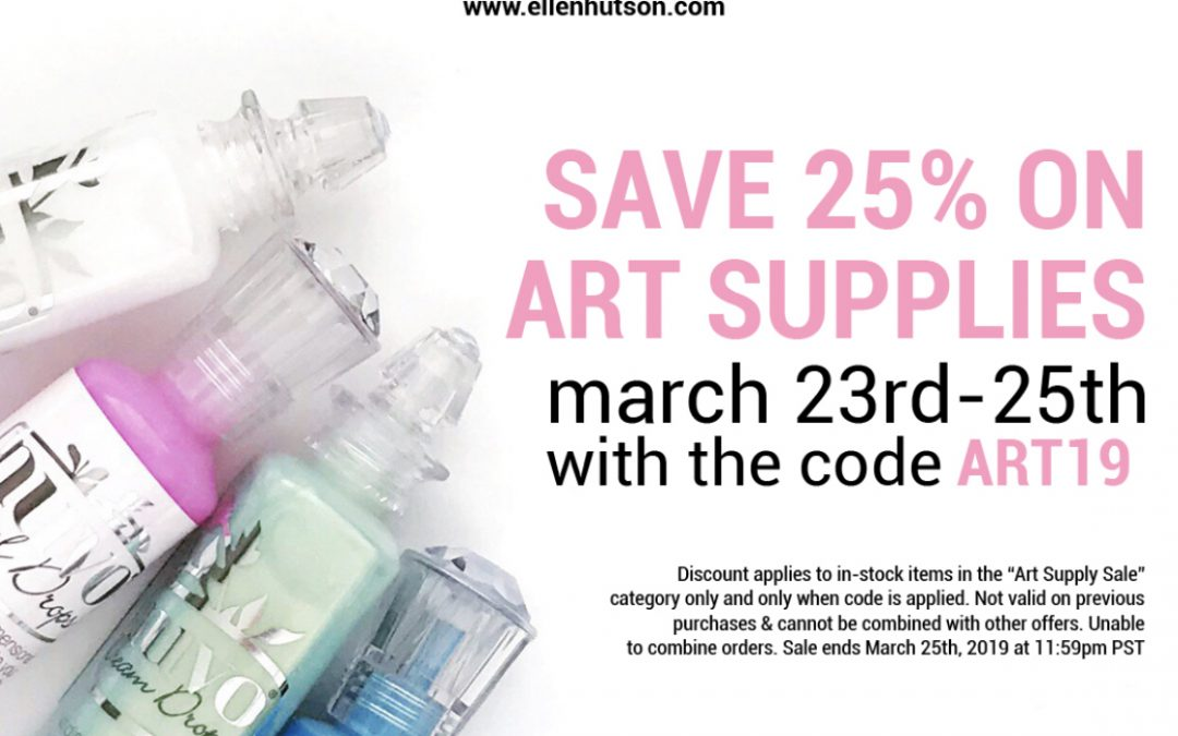 Need art supplies?