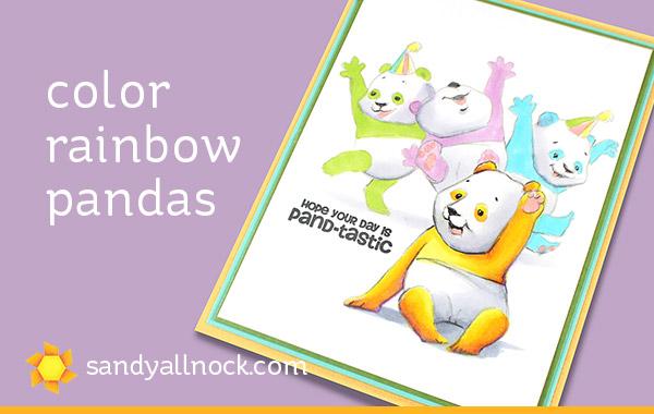 Rainbow Pandas