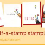 Half-a-stamp Stamping