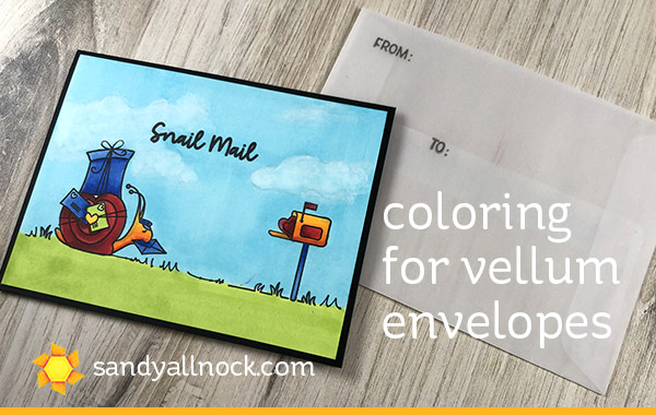 Coloring for Vellum Envelopes