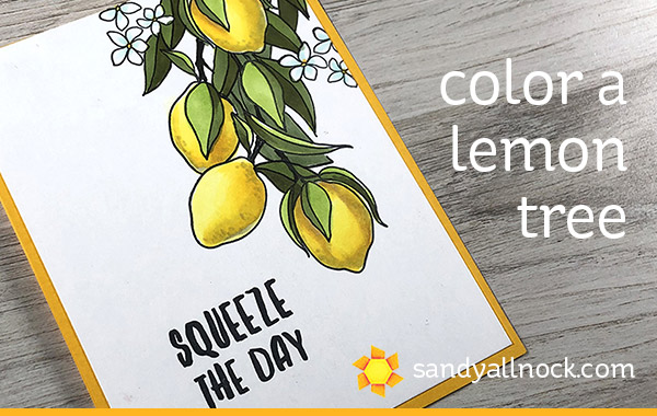 Color a Lemon Tree