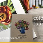 Drawing an Open Tulip – Copic Marker and Pencil