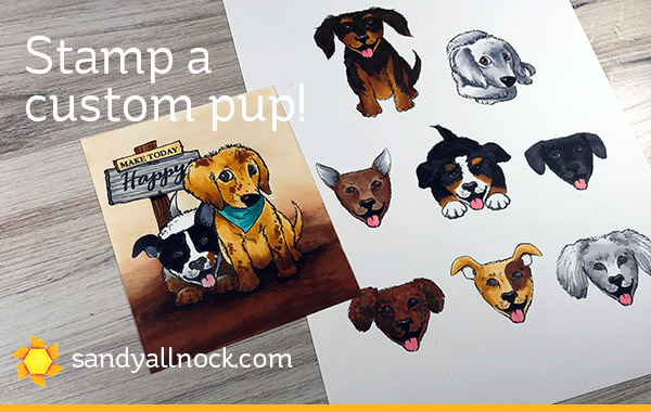 Stamp a Custom Puppy!