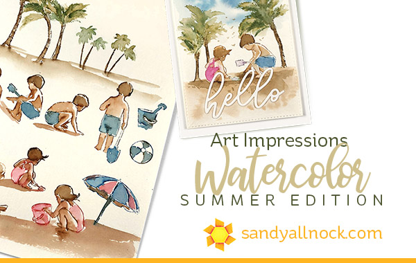 Art Impressions Watercolor: Summer Edition
