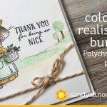 Color a realistic bunny (Polychromos pencils)