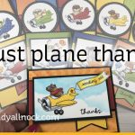 Just Plane Thanks (10 cards, 1 sketch)