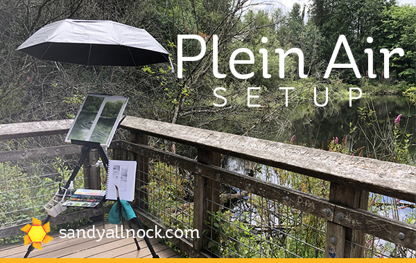 My Plein Air setup