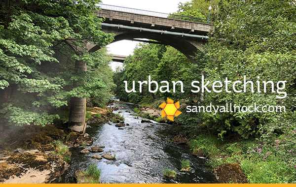 Urban Sketcher Outing, and a winner