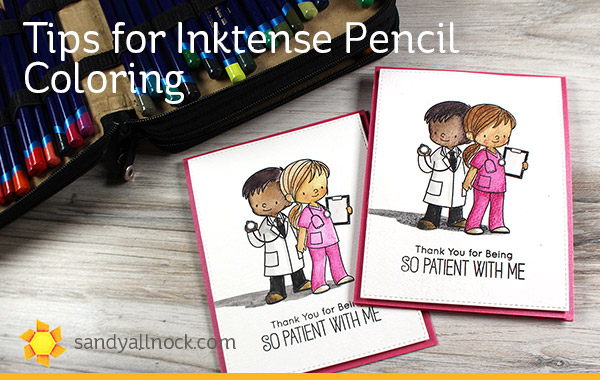 Tips for Inktense Pencil Coloring (Plus charity report!)