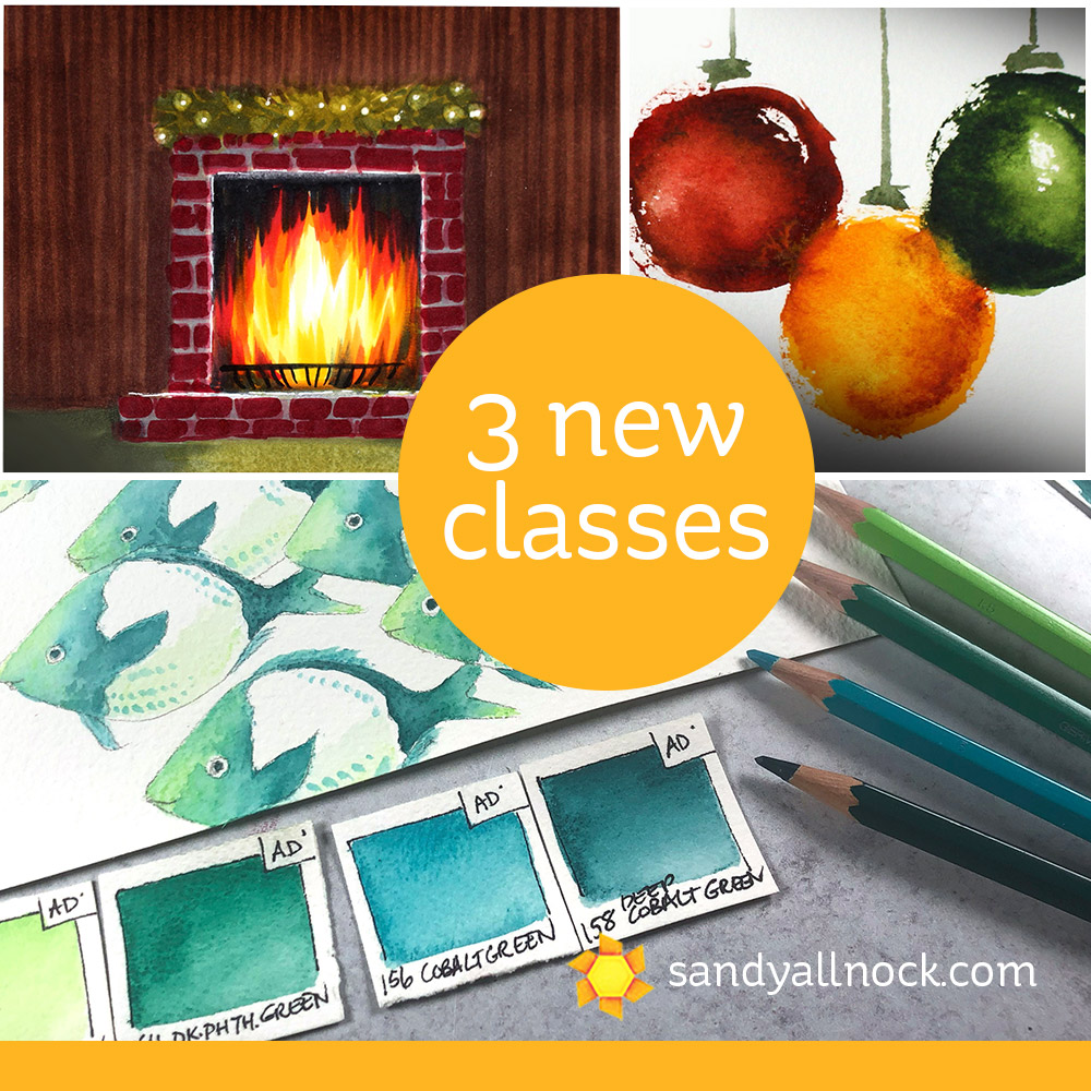 Three (count em 3!) new classes!
