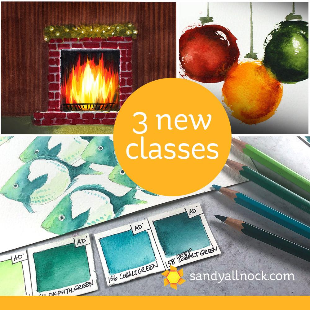 Three (count em 3!) new classes!