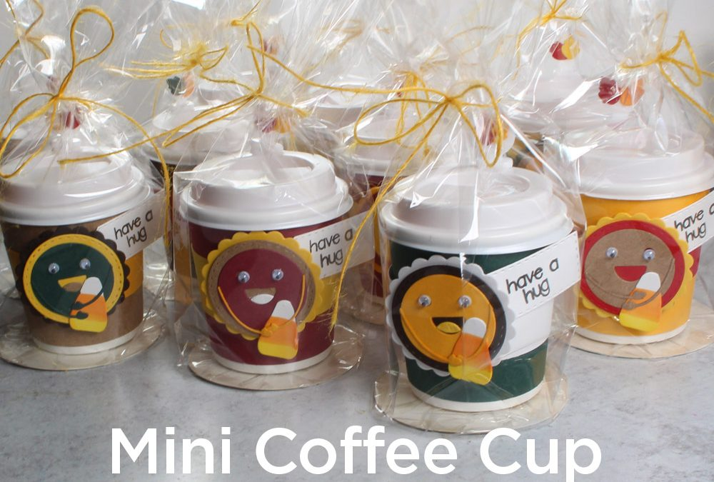 Mini Coffee Cup Treat Favors (+ Blending Brush Cameo)