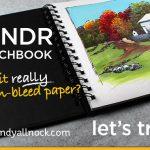 Rendr Sketchbook: Will it bleed through?