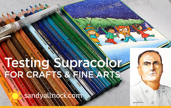 Testing Supracolor for Crafts & Fine Arts (with José Andrés!)