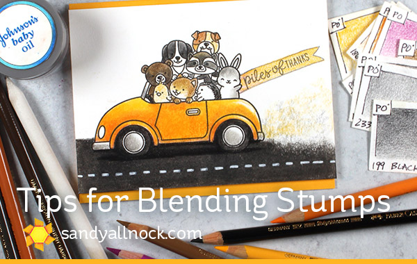 Tips for Blending Stumps (Sunny Studio – Cruisin Critters)
