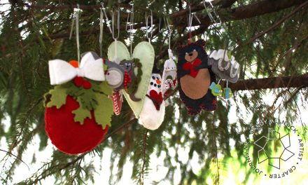 8 Creative Felt Ornaments