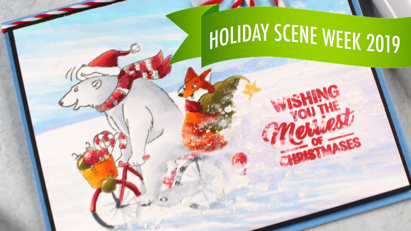 Holiday Scene Week #1: Snow Spray